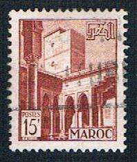 French Morocco 276 Used Patio (BP14110)