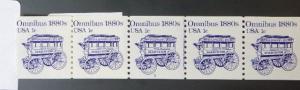 1897 1c Omnibus, PNC Strip 5 #2