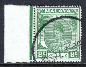 Malaya (Perlis) - Scott #23 - Used - Unevenness - SCV $4.50