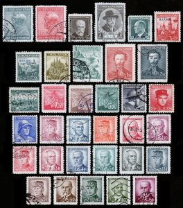 Czechoslovakia Scott 232 // 304 (1937-45) Used/Mint H F-VF, Cat. Value $9.15 B