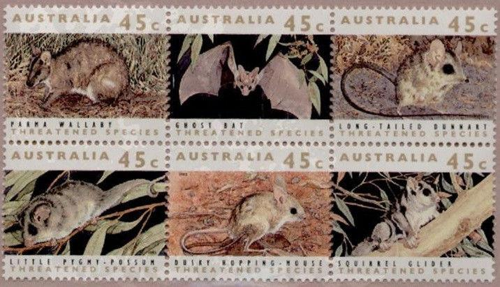 Australia 1235 MNH Threatened Species, Animals