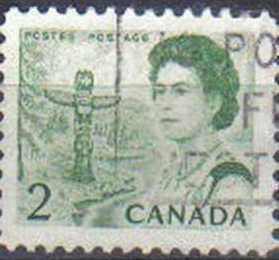 CANADA, 1967 used 2c,  Queen Elizabeth II, Regions, DIFFERENT CANCELS EACH