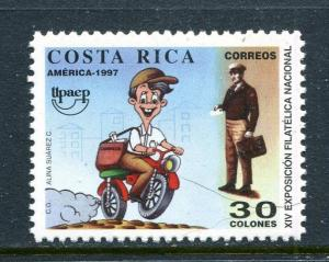 Costa Rica 499, MNH, America issue Paintings 1997. x31265