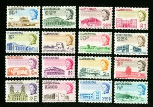 Antigua Stamps # 167-82 VF OG LH + H Catalog Value $36.10