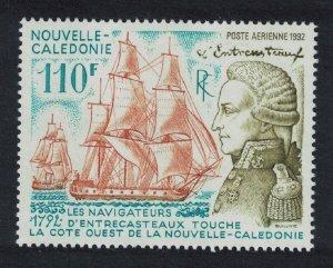 New Caledonia Admiral Bruni d'Entrecasteaux 1v SG#951