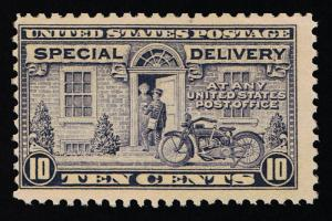 AFFORDABLE GENUINE SCOTT #E12 MINT OG NH 1922 PERF-11 UNWMK SPECIAL DELIVERY
