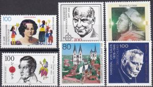 Germany #1915-20  MNH CV $7.50 (A19868)