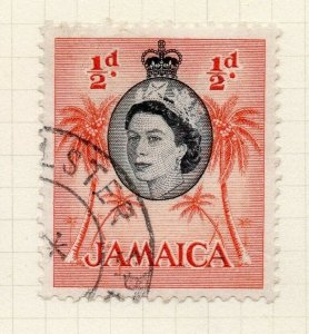 Jamaica 1956 Early Issue Fine Used 1/2d. 283887