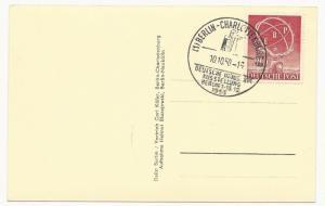 Germany Scott #9N68 on Post Card Cover Ausstellung Berlin 1950