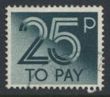 Great Britain Postage Due SG D97   SC# J99  Used  see scan