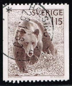 Sweden #1234 Brown Bear; Used at Wholesale