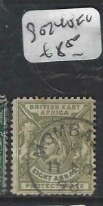 BRITISH EAST AFRICA   (P3105B)  QV  LION  8A    SG 74  VFU