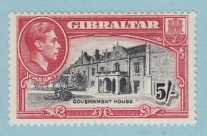 Gibraltar 116 Postfrisch mit Scharnier Og Kein Fehler Sehr Fein