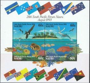NAURU 1993 24th SOUTH PACIFIC FORUM