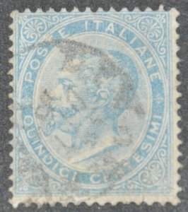 DYNAMITE Stamps: Italy Scott #29 – USED