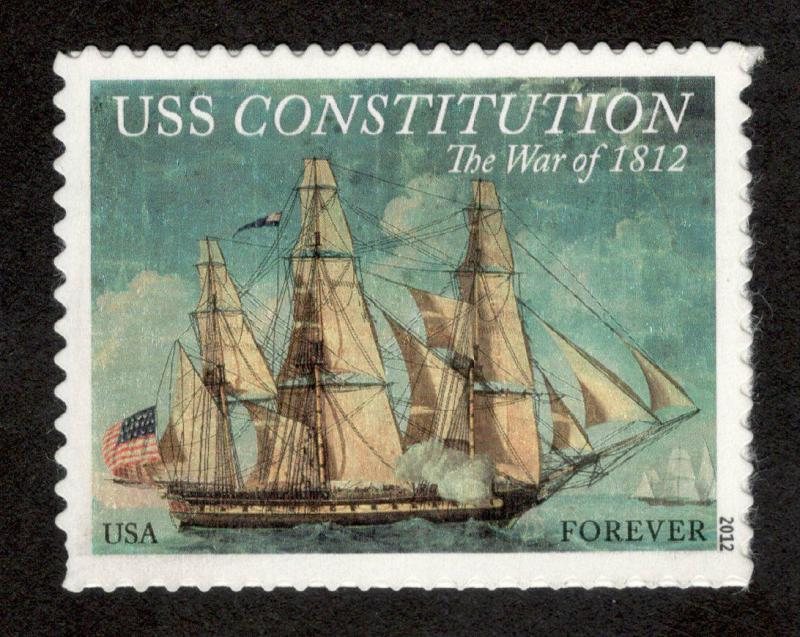 4703 USS Constitution US Single Mint/nh (Free Shipping)