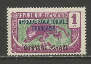 Ubangi-Shari   #41  MLH  (1924)  c.v. $0.55