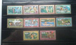 Niue #C1-10 MNH e197.4590