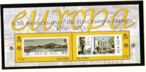 Isle of Man Sc 1144 2006 50th anniv Europa stamps stamp sheet mint NH