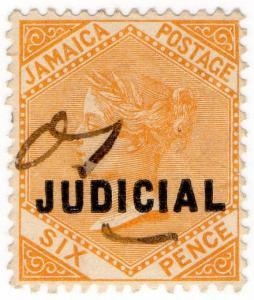 (I.B) Jamaica Revenue : Judicial 6d (1898)