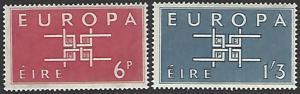 Ireland #188-189 Mint Hinged Set of 2 Europa