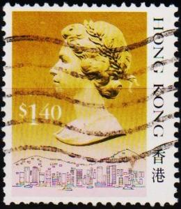 Hong Kong. 1987 $1.40 S.G.609 Fine Used