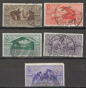 COLLECTION LOT # 5408 ITALY #248-252 1930 CV+$10