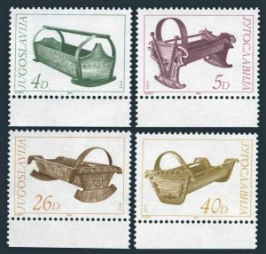 Yugoslavia 1691-1694,MNH.Michel 2061-2064. 19th century Cradles,1984.