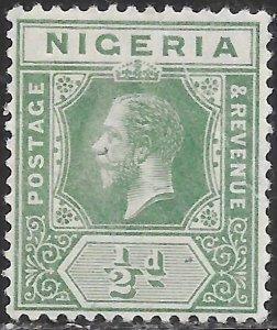 Nigeria 1 Unused/Hinged - George V