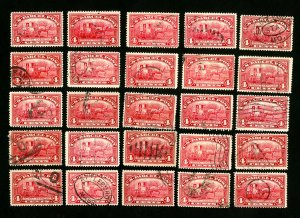 US Stamps # Q4 VF & Better Used Lot of 25