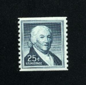 USA #1048  4  used 1954-1968 PD .08