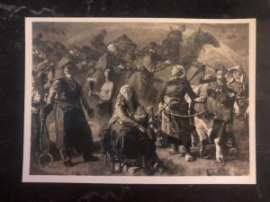 1944 Occupied Jersey Channel Island England Mixed Frank Art Postcard cover