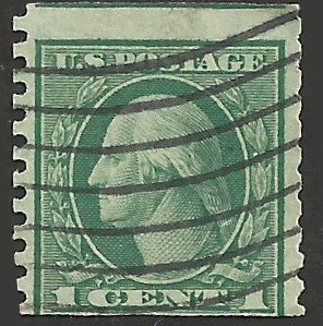 # 490 Used Green George Washington