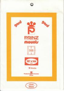 PRINZ CLEAR MOUNTS 187X144 (10) RETAIL PRICE $15.00