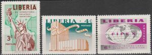 Liberia #355-7   MNH