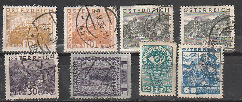 Austria Mint & Used lot #9