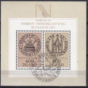 Iceland #564  F-VF Used  CV $5.00  (SU8245)