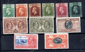 Cayman Islands KGV fine mint collection WS16679