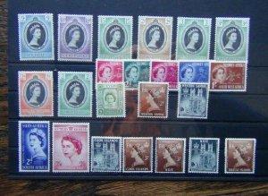 1953 Coronation Seychelles Sierra Leone Somaliland Swaziland Trinidad Tobago
