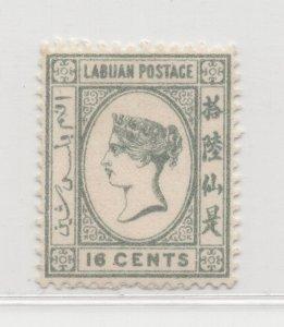 Malaya Labuan - 1894 - SG56 - 16c - no gum #679
