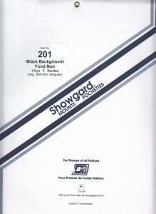 SHOWGARD BLACK MOUNTS 264/201 (5) RETAIL PRICE $18.50