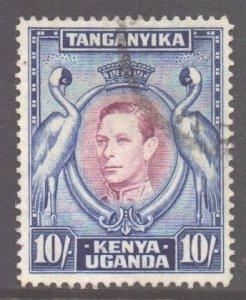 KUT Scott 84b - SG149a, 1938 George VI 10/- used