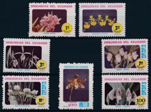 [61727] Ecuador 1980 Flora Flowers Orchids Blumen  MNH