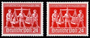 Germany Allied Occupation Shades mnh