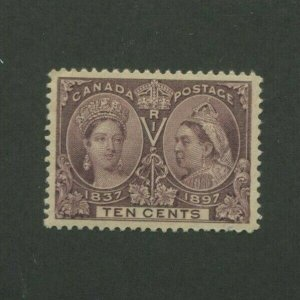 1897 Canada Postage Stamp #57 Mint Never Hinged VF