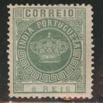 Portuguese India Scott 164 Crown issue MH*