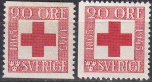 Sweden #358-9 F-VF Unused CV $3.60 (Z5249)