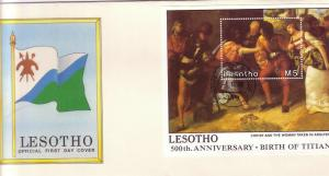 Christmas. 500th Birth Anniv of Titian (artist). 1988