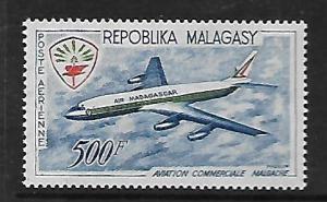 MALAGASY REPUBLIC, C71, MINT HINGED, AVIATION