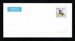 2002 - Tunisia- Postal stationary - Saharan Tourism (Fantasia)- Riding- Horse